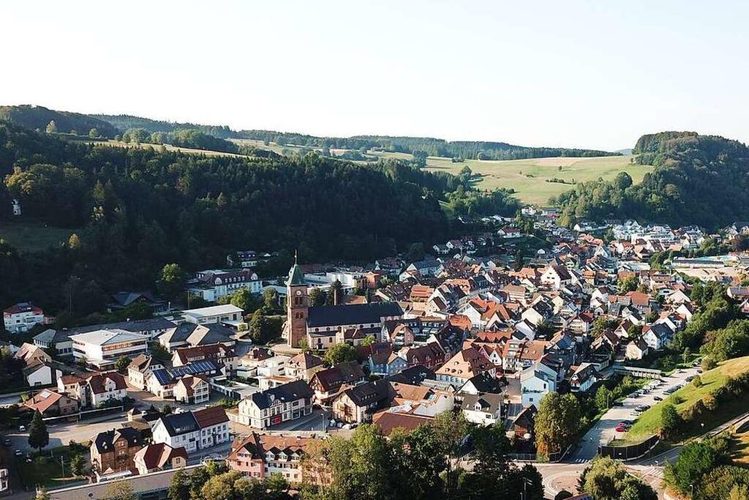 Elzach ist die flächengrößte Gemeinde ...ie den Fluss- auch im Ortsnamen trägt.  | Foto: Michael Saurer