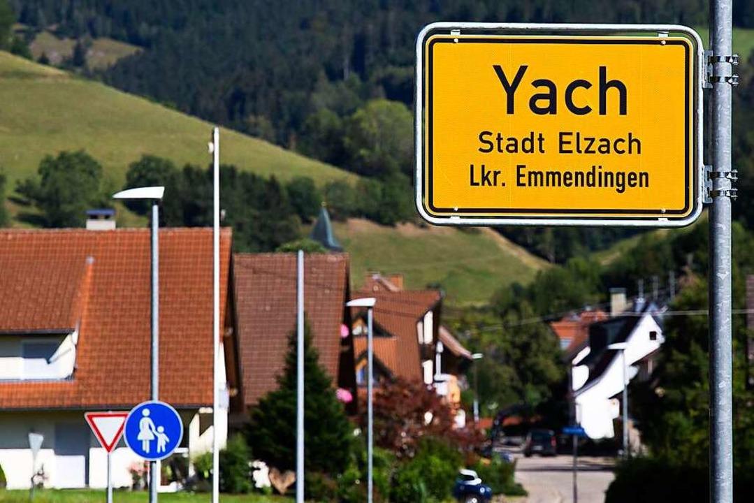 Elzachs Ortsteil Yach ist der einzige ...utschland mit dem Anfangsbuchstaben Y.  | Foto: Philipp von Ditfurth (dpa)