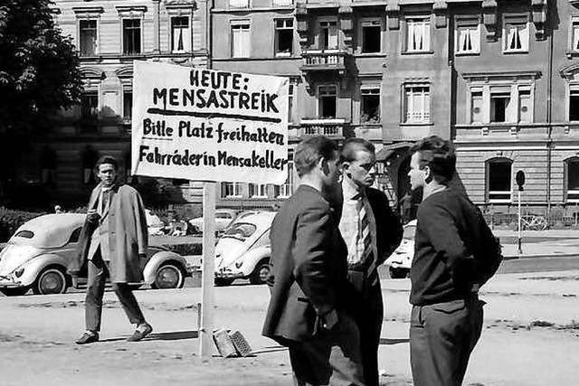 Streiks und Proteste bestimmten vor 60 Jahren den Sommer an Uni Freiburg