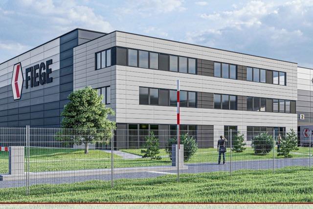 Logistikfirma Fiege lässt sich in Gengenbach nieder