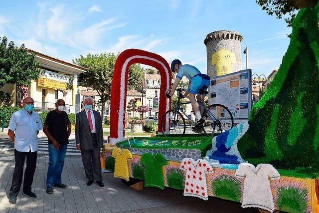 Tour de France stoppt in Herbolzheims Partnerstadt Sisteron