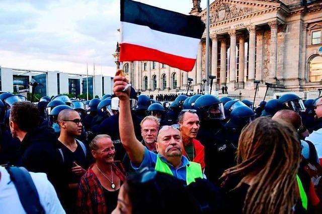 Johannes Fechner und Peter Weiß äußern sich nach der Corona-Demo in Berlin kritisch