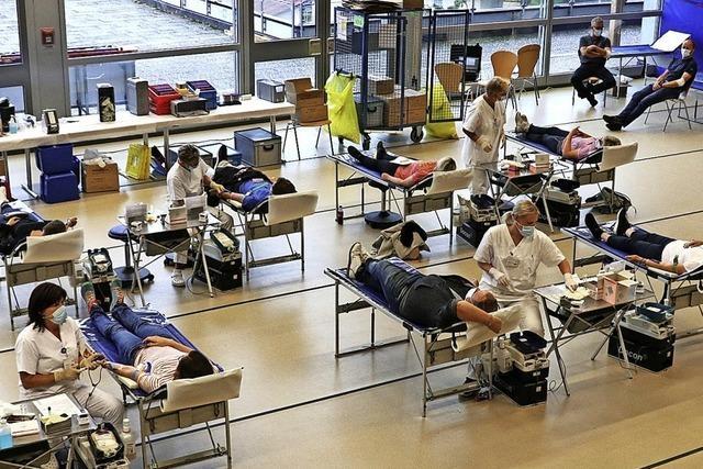 Blutspenden werden wieder dringend gebraucht