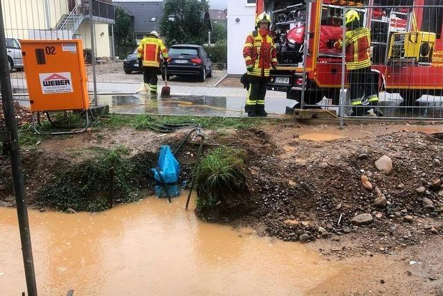 Starker Regen verursacht Stromausfall