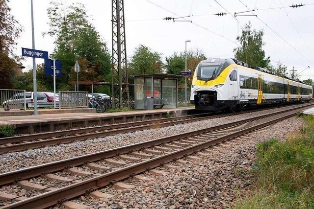 Die Gemeinde Buggingen kritisiert die Baupläne der Bahn