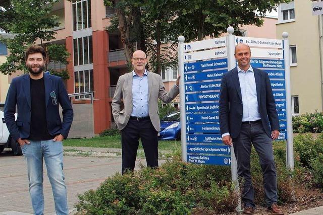 Bad Bellingen bekommt neue Hinweisschilder für die Gäste des Ortes