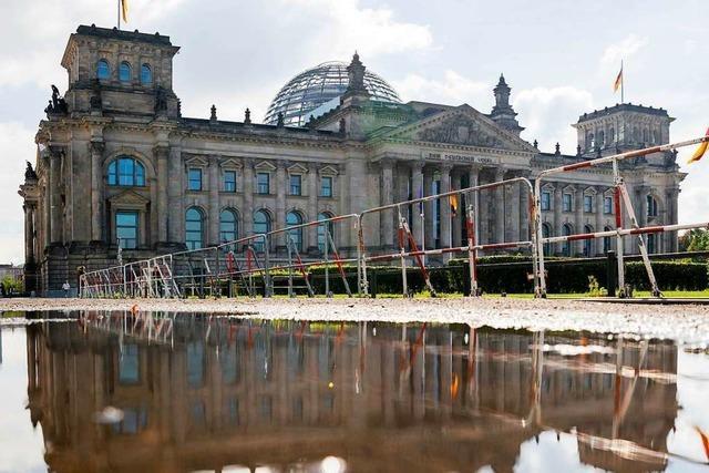 Der Bundestag soll besser geschützt werden