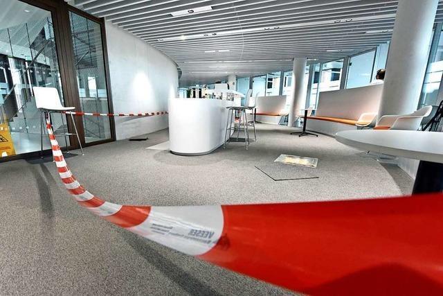 Defekt an Wasseranlage im Rathaus – halbe Million Euro Schaden