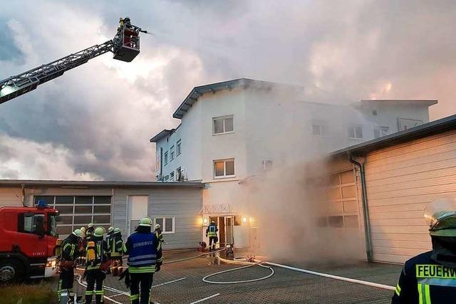 Brand in Ettenheim verursacht Schaden im sechsstelligen Bereich