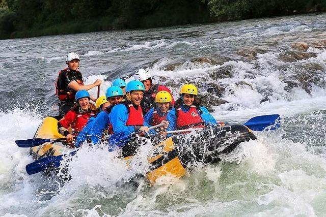 300-Euro-Gutschein für Wasserspaß von Rheinraft zu gewinnen