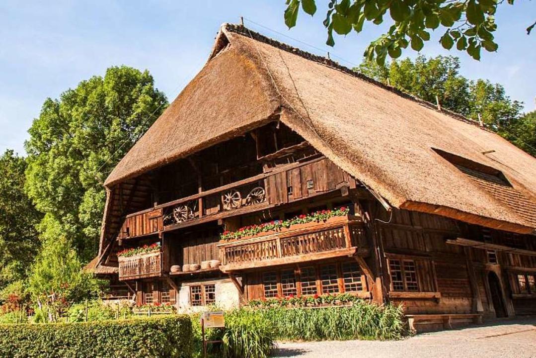 Er gab dem Freilichtmuseum seinen Namen: der Vogtsbauernhof.  | Foto: Hans-Jörg Haas (haasimstudio.com)