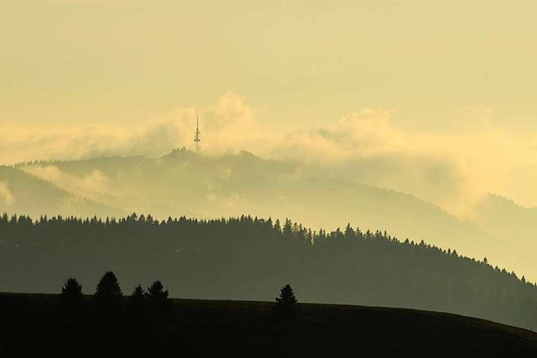 Der Hochblauen, vom Schauinsland aus gesehen.  | Foto: Andrea Schiffner