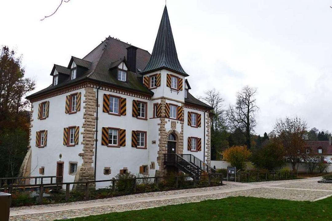 Schloss Entenstein in Schliengen ist Amtssitz des Bürgermeisters.  | Foto: Michael Behrendt