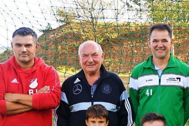 Drei Generationen im Fußball-Fieber