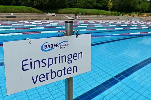 Das Rheinfelder Freibad schließt am 6. September