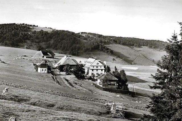 Wurzeln des Hotel Halde auf dem Schauinsland reichen Jahrhunderte zurück