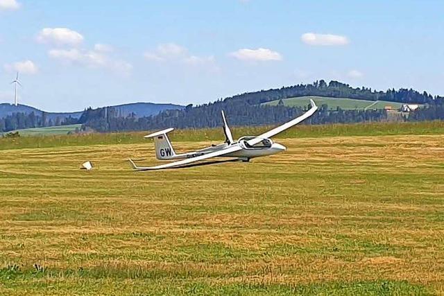 Erster Segelflug ab Hütten über mehr als 1000 Kilometer