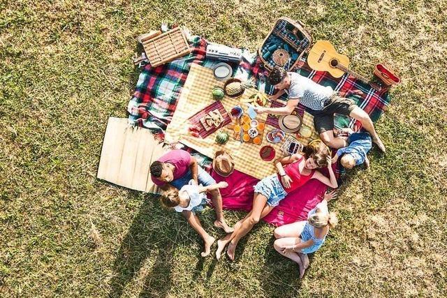 Picknicken ist viel mehr als Essen im Freien