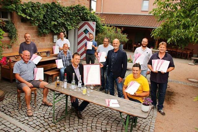 Kirschwasser aus Sulzburg-Laufen wurde zum besten Schnaps der Region gekürt