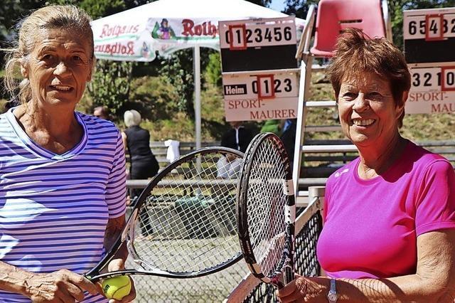 Senioren-Tennis auf höchstem Niveau