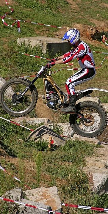 Mit dem Bike über Stock und Stein    Foto: Thilo bergmann