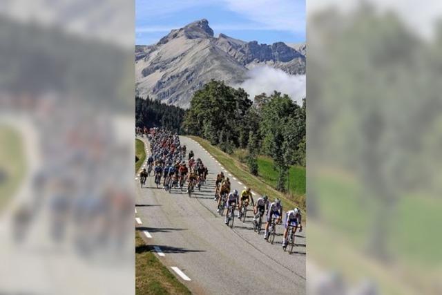 Ex-Skispringer, der Rad und Berge liebt