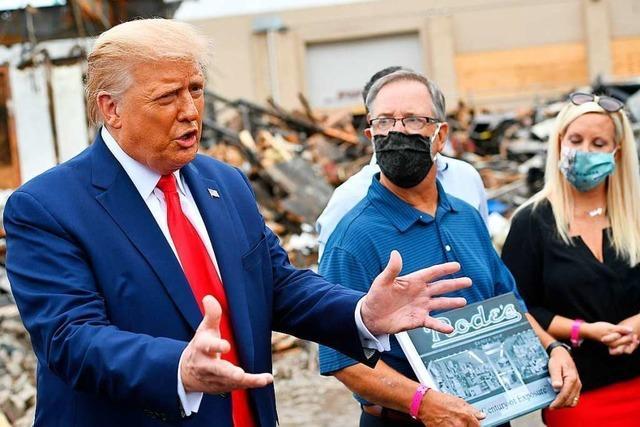 Trump verteidigt den Todesschützen von Kenosha