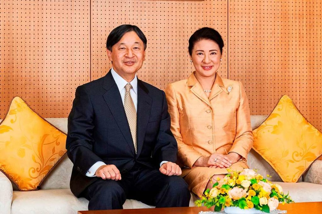 Japans Kaiser Naruhito und seine Frau, die Kaiserin Masako  | Foto: HANDOUT (AFP)