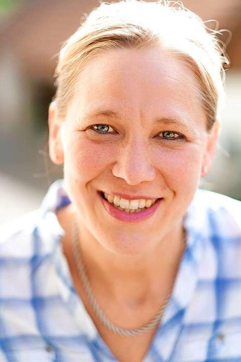 Roswitha Vollbrecht-Osswald ist Müllermeisterin der Tantenmühle in Malsburg.  | Foto: Birgit-Cathrin Duval