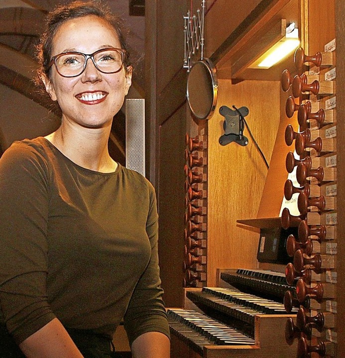 Die Organistin Marion Krall   | Foto: Heidi Fößel