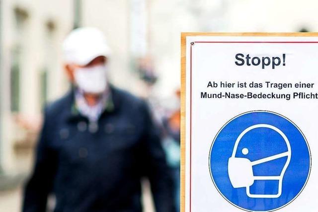 Mann ohne Mundschutz beleidigt Mitarbeiter im Einkaufsmarkt