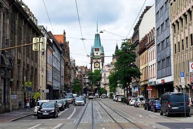 Mann scheitert bei Raubüberfall in der Freiburger Innenstadt