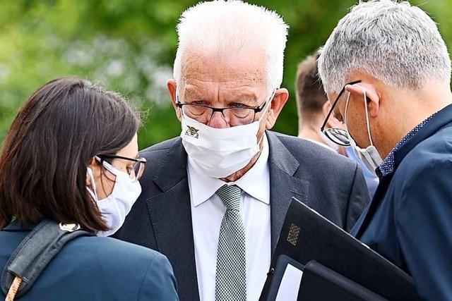 Ministerpräsident Kretschmann: In Gedanken weiter bei Verletzten
