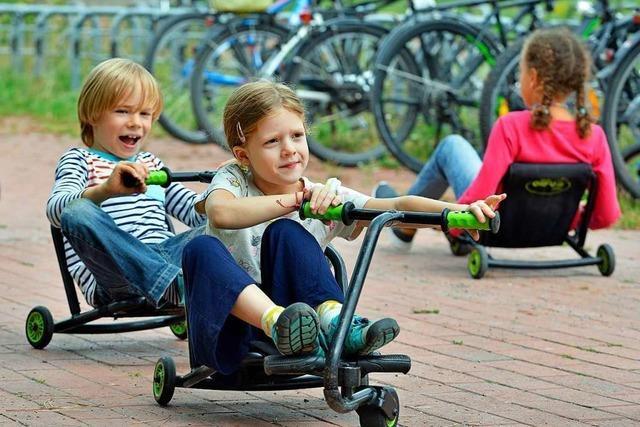 Spielmobil-Ferientage im Freiburger Eschholzpark haben begonnen