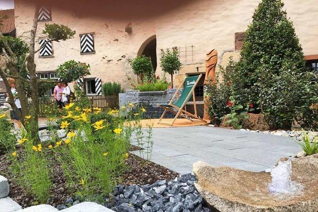 Mit BZ-Card zur Gartenmesse Diga auf Schloss Beuggen!
