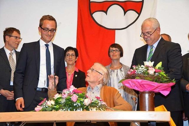 Vogtsburg trauert um Altbürgermeister Siegfried Fischer