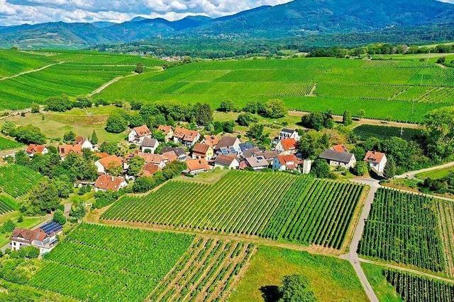 Die kleinsten Dörfer im Markgräflerland