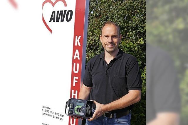 AWO kann jetzt Geräte besser reparieren