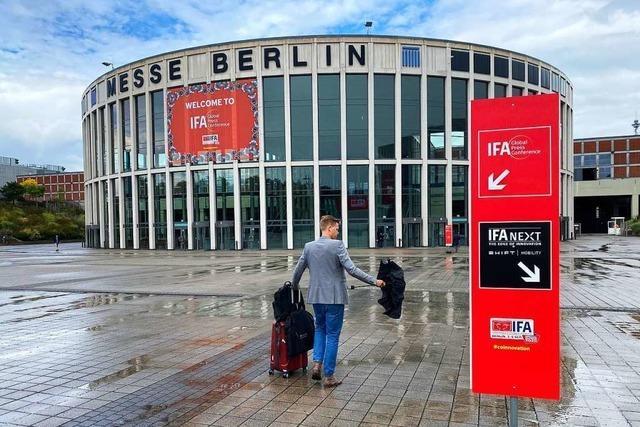 Die IFA startet am Donnerstag im Krisenmodus