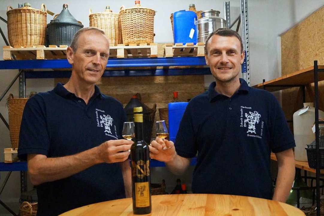 Die Neubrenner Carlo Burger (links) und Christian Eisele  | Foto: Martin Oswald