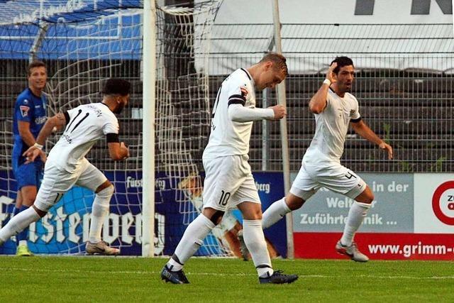 FC 08 Villingen mit mutigem Auftritt gegen Titelfavorit SGV Freiberg