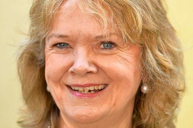 Loretta Lorenz wünscht sich Lastenvelo-Parkplätze vorm Supermarkt