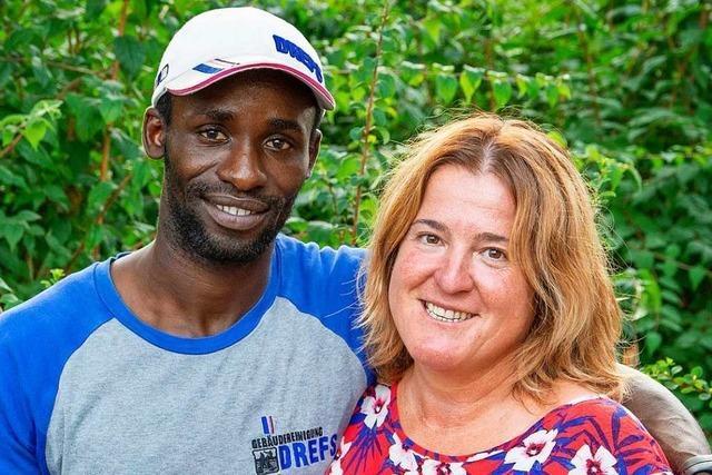 Ein junger Mann aus Gambia fand in Schopfheim sein Glück