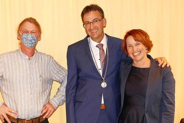 Christian Dröse ist nun offiziell Bürgermeister in Herrischried