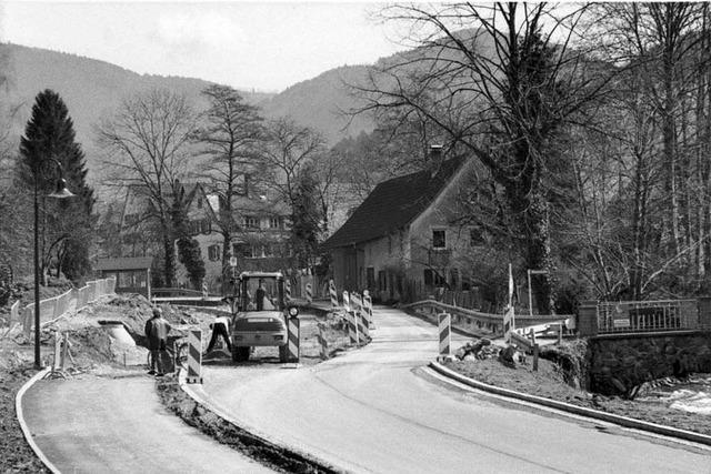 Seit 1970 sind vier Orte zur Gemeinde Glottertal zusammengewachsen