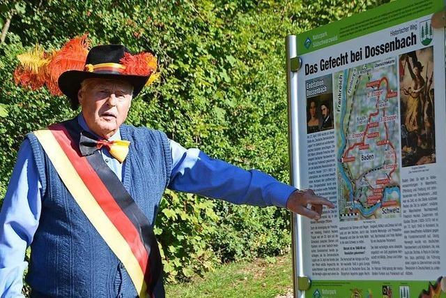 Leserinnen und Leser suchen in Schwörstadt Spuren der Revolution