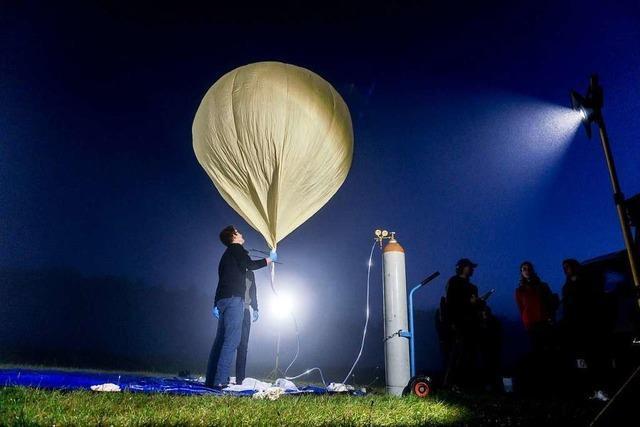 Versuchsballon der Hochschule Offenburg soll bis auf 35 000 Meter steigen