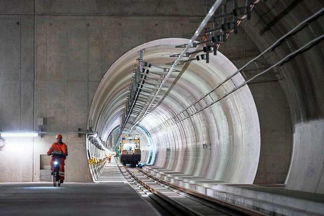 Mit der Eröffnung des Ceneri-Basistunnels vollendet die Schweiz die Gotthard-Schnellroute