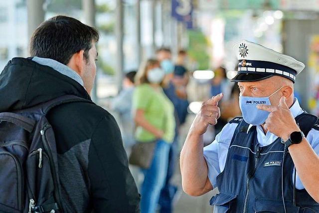 Polizei startet verstärkte Masken-Kontrollen im Freiburger Nahverkehr