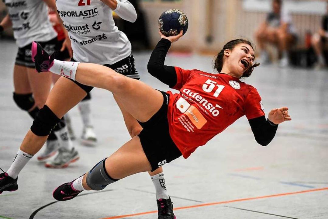 Auch Marie Lipps verfügt nun wie ein G...r anstehenden Runde weiterhelfen kann.  | Foto: Patrick Seeger
